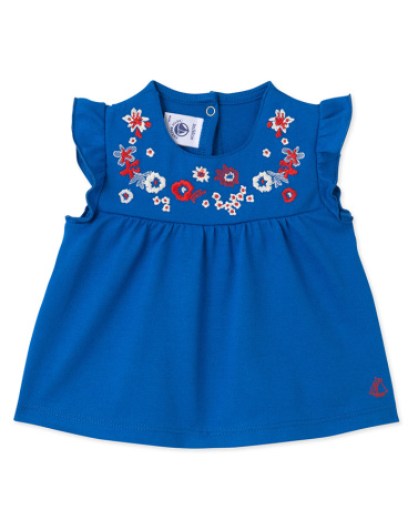 Baby girls' embroidered blouse