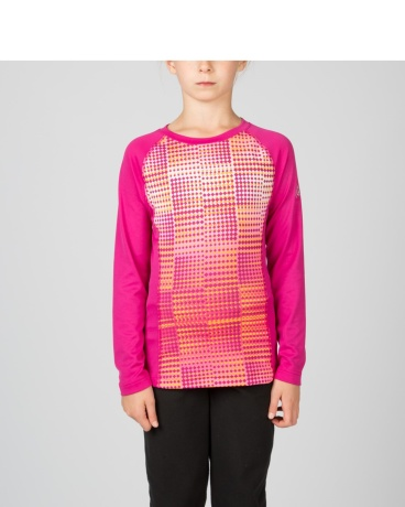 GIRL'S  CHATTER T-HOT L/S TOP