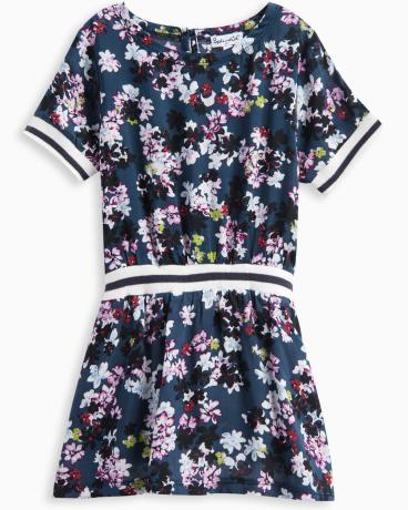 Little Girl All Over Floral Print Dress