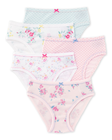 Pack of 5 girl's pants