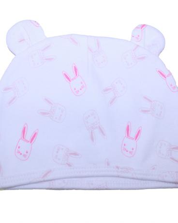 Bunny Print Jersey Hat