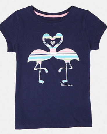 Girls' Flamingo Heart Tee (8-16)