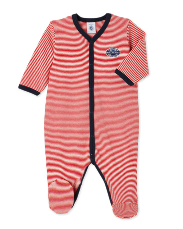 Baby boy's milleraies stripe sleeper