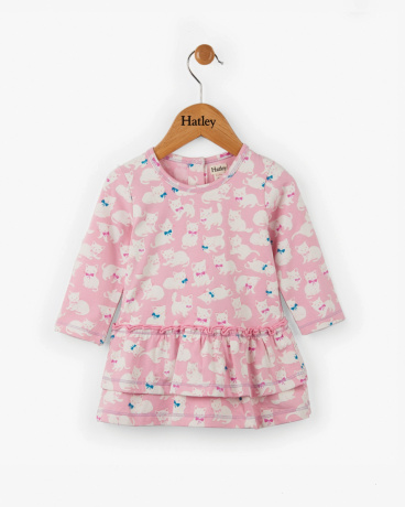Sophisticated Kittens Baby Layered Dress