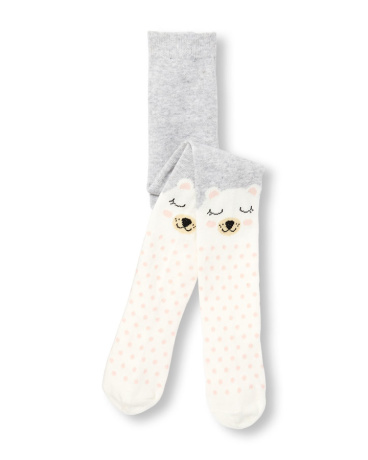 Toddler Girls Critter Knit Tights