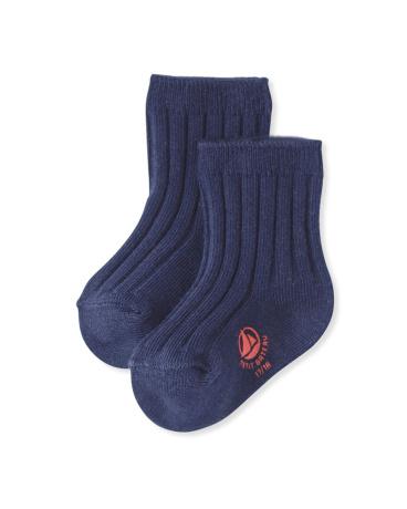 Girls' plain socks