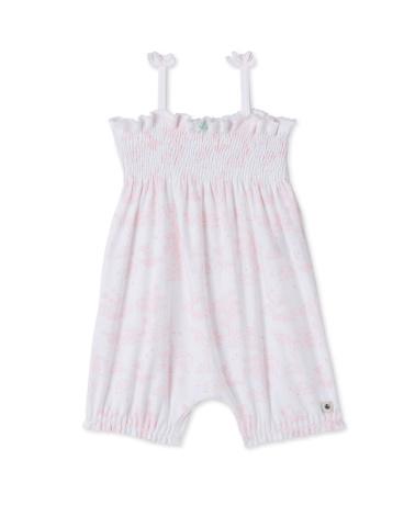 Baby girls' print romper