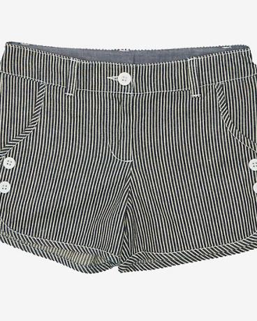 Little Girls' Railroad Stripe Short (2T-7)