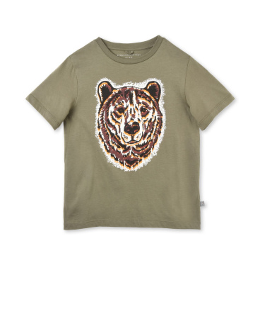 Arrow Bear Print T-shirt