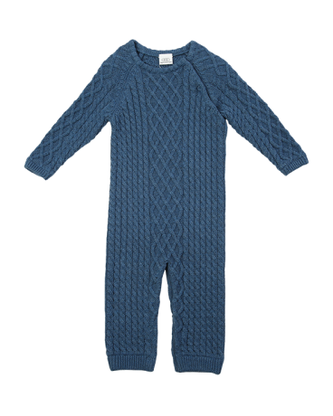 CABLE  KNIT LAYETTE