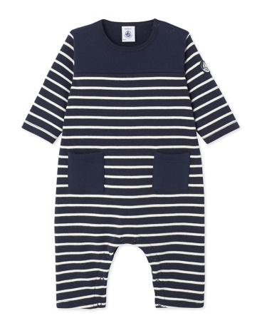 Baby boy's striped jumpsuit