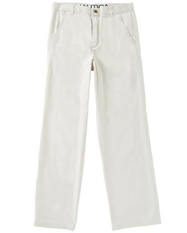 Boys' Flat Front Twill Pant (8-16)
