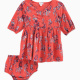 Baby Girl Floral Allover Print Dress