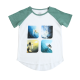 Surf Inspired Graphic Tee