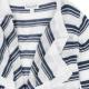 Little Girl Stripe Wrap Sweater