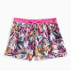 Girl Printed Voile Short