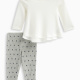 Baby Girl Loose Knit with Chiffon Set