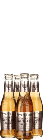 Fever Tree Smoky Ginger Ale 4-pack 4x20cl