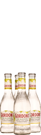 Gordon's Gin & Tonic Lime Non-Alcoholic 4-pack 4x25cl