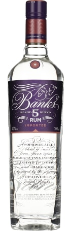 Banks 5 White Rum 70cl