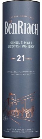 Benriach 21 years Single Malt 70cl