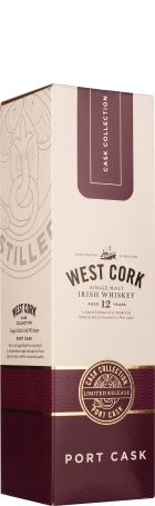 West Cork 12 years Port Cask Finish 70cl