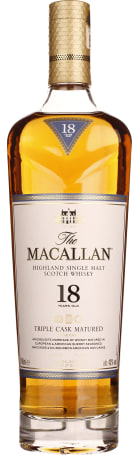 The Macallan 18 years Triple Cask Fine Oak 70cl