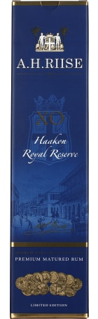 A.H. Riise XO Kong Haakon Royal Reserve Rum 70cl