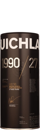Bruichladdich 27 years 1990 HB'90 Rare Cask Series 70cl