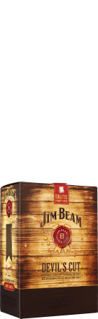 Jim Beam Devil's Cut Giftset 70cl