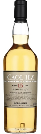 Caol Ila 15 years Unpeated Special Release 2016 70cl