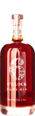 Six O'clock Sloe Gin 70cl
