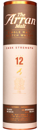 Arran 12 years Cask Strength Batch 6 70cl