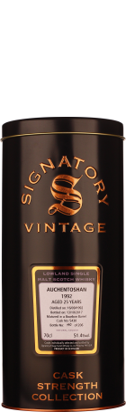 Signatory Auchentoshan 25 years 1992 Cask Strength 70cl