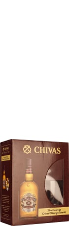 Chivas Regal 12 years Giftset 70cl