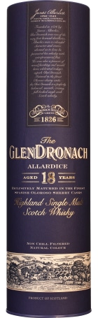 Glendronach 18 years Allardice Bottled 2015 70cl
