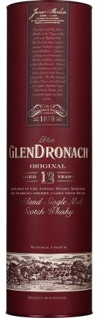 Glendronach 12 years Original Bottled 2018 70cl