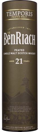 Benriach 21 years Temporis Single Malt 70cl
