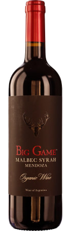 Big Game Malbec Syrah 75cl
