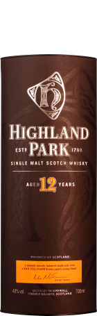 Highland Park 12 years Single Malt 70cl