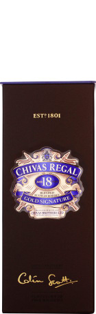 Chivas Regal 18 years Gold Signature 70cl