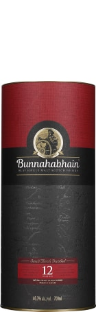 Bunnahabhain 12 years unchilfiltered 70cl