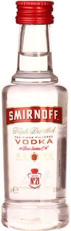 Smirnoff Vodka miniaturen 12x5cl