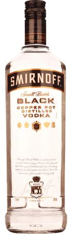 Smirnoff Black 1ltr