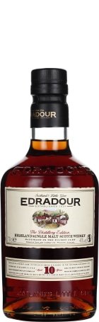 Edradour 10 years Single Malt 70cl