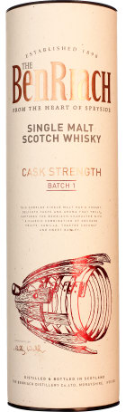 Benriach Cask Strength Batch 1 Single Malt 70cl