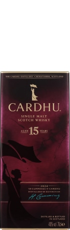 Cardhu 15 years Single Malt 70cl