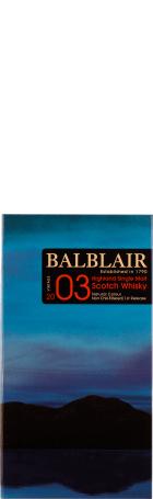 Balblair Vintage 2003 1st Release Single Malt 70cl