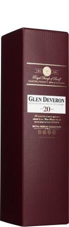 Glen Deveron 20 years Single Malt 1ltr
