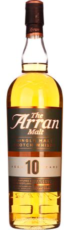 Arran 10 years Single Malt non filtered 1ltr